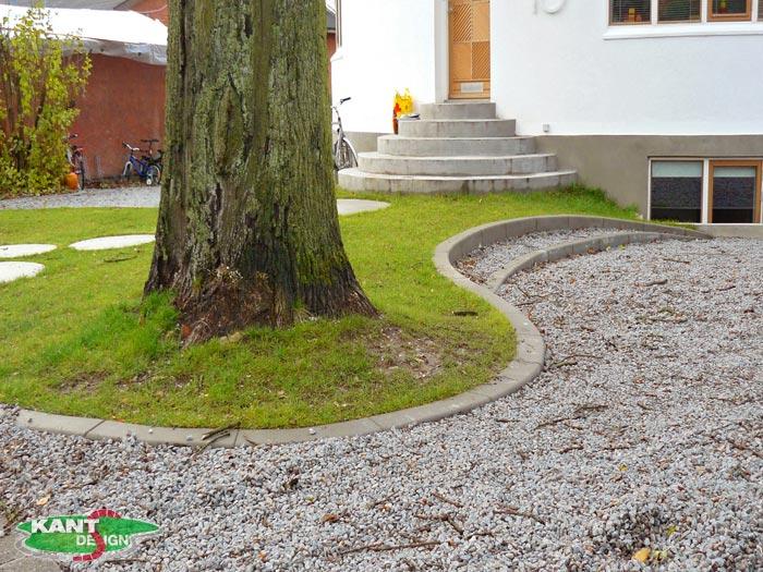 betonstøbning til haven